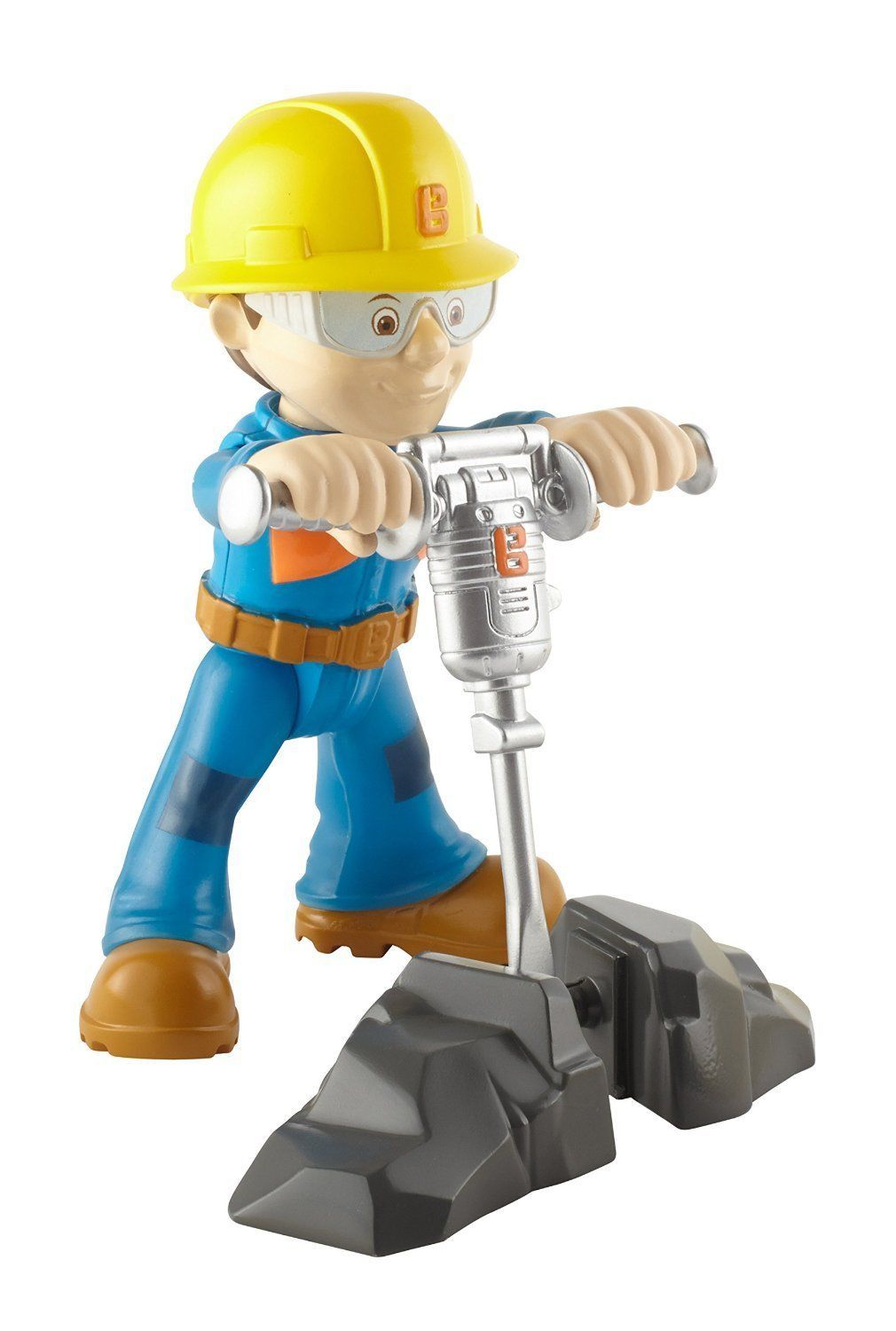Bob The Builder Action Figure Rock Splitting Bob